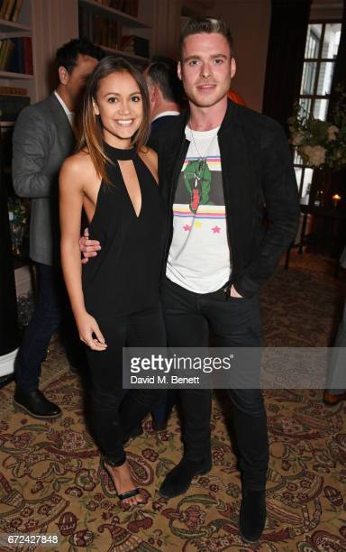 Richard Madden attends the NetaPorter Mr Porter preopening dinner cohosted by Jenny Dickinson and Jeremy Langmead in The Saloon at The Ned London on...