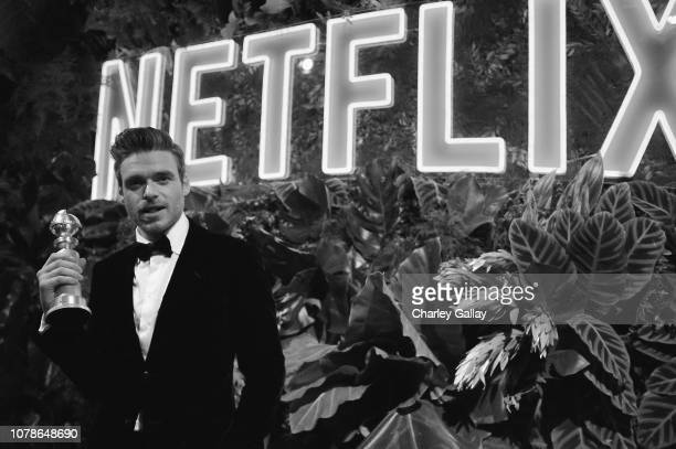 Richard Madden attends the Netflix 2019 Golden Globes After Party on January 6 2019 in Los Angeles California