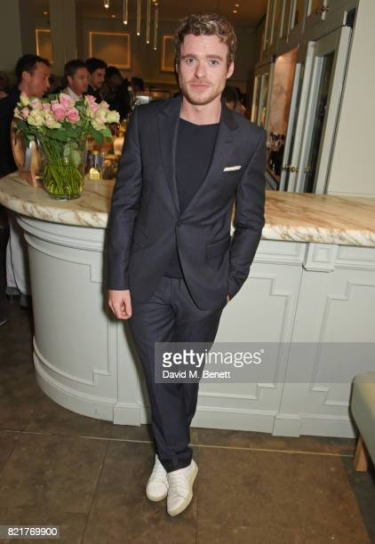 Richard Madden attends the press night after party for 'Cat On A Hot Tin Roof' at The National Cafe on July 24 2017 in London England
