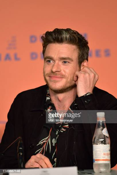 """Richard Madden attends the """"Rocketman"""" press conference during the 72nd annual Cannes Film Festival on May 17, 2019 in Cannes, France."""