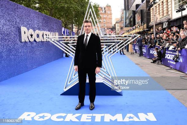 """Richard Madden attends the """"Rocketman"""" UK Premiere at Odeon Leicester Square on May 20, 2019 in London, United Kingdom."""