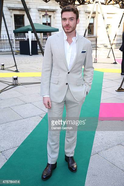 Richard Madden attends the Summer Exhibition Preview Party at Royal Academy of Arts on June 3 2015 in London England