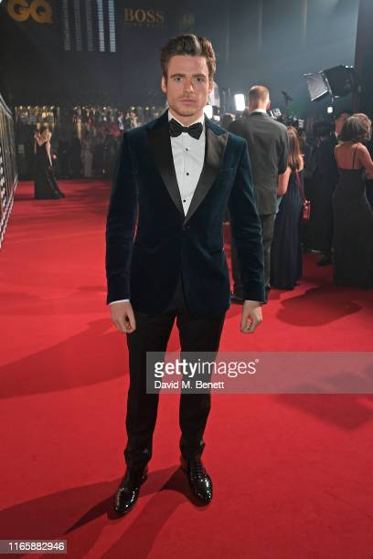 Richard Madden attends the the GQ Men Of The Year Awards 2019 in association with HUGO BOSS at the Tate Modern on September 3, 2019 in London,...