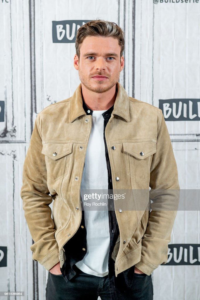 Richard Madden discusses 'Ibiza' with the Build Series at Build Studio on May 22, 2018 in New York City.