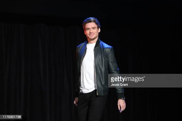 Richard Madden of 'The Eternals' took part today in the Walt Disney Studios presentation at Disney's D23 EXPO 2019 in Anaheim, Calif. 'The Eternals'...