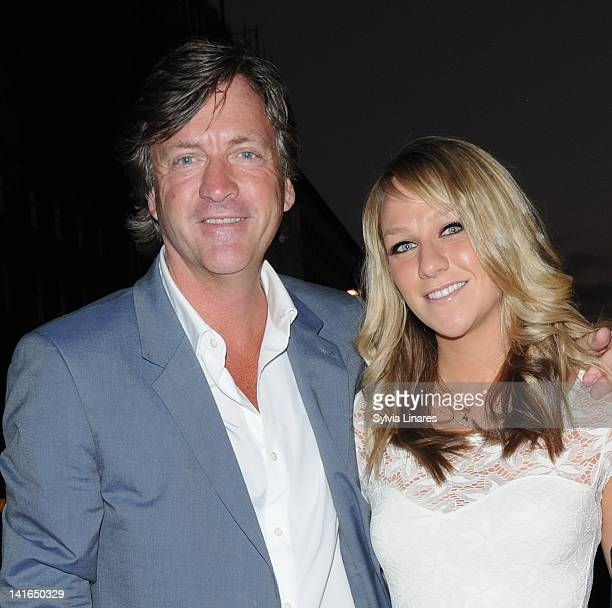 Richard Madeley and Chloe Madeley attend 'Sweeney Todd' Press Night held at The Adelphi Theatre on March 20 2012 in London England