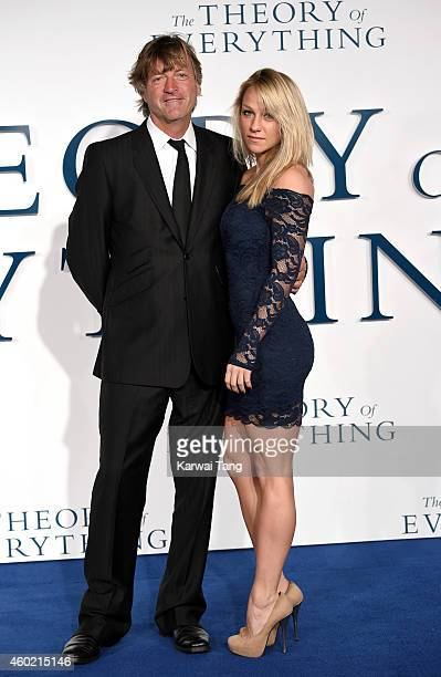 Richard Madeley and daughter Chloe Madeley attend the UK Premiere of 'The Theory Of Everything' at Odeon Leicester Square on December 9 2014 in...