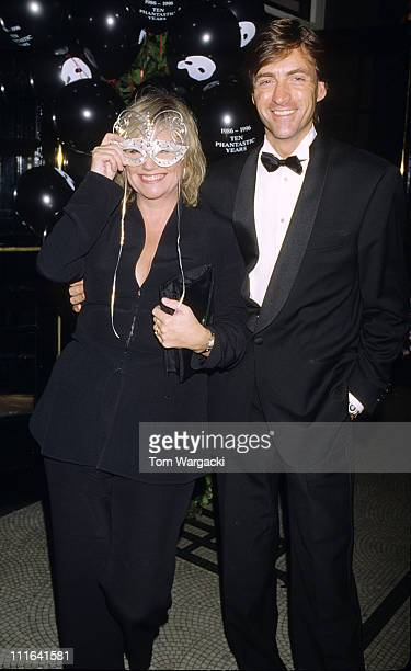 Richard Madeley and Judy Finigan during Richard Madeley and Judy Finigan at party for musical 'The Phantom of the Opera' London October 9th 1996 in...