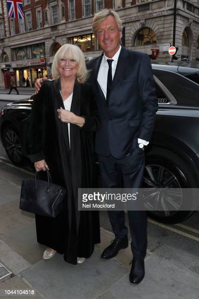 Richard Madeley and Judy Finnigan arriving at BAFTA Piccadilly for a BAFTA Tribute dedicated to This Morning for their 30th anniversary on October 1...