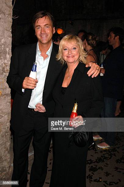 Richard Madeley and Judy Finnigan attend the MORE4 TV Launch Party launching Channel 4's adult entertainment digital channel at The Shunt Vaults on...