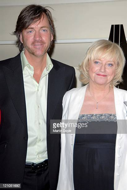 Richard Madeley and Judy Finnigan during Galaxy British Book Awards 2007 Nominations March 7 2007 in London Great Britain