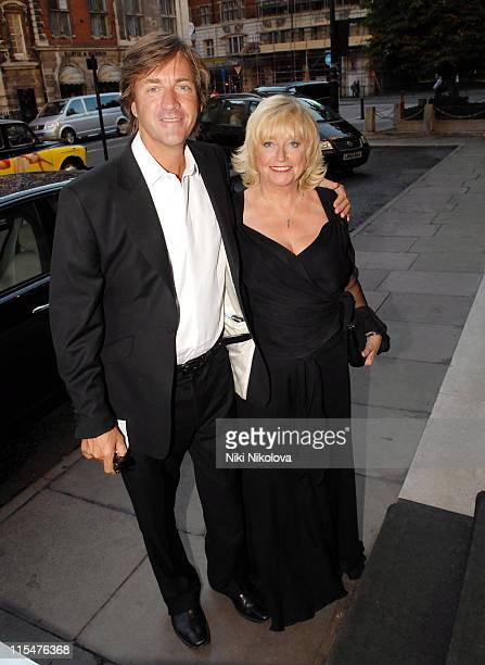 Richard Madeley and Judy Finnigan during George Michael's 44th Birthday Party at Berkley Hotel in London Great Britain