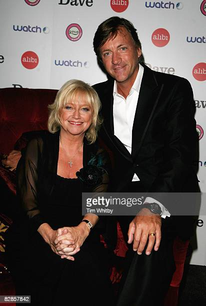 Richard Madeley and Judy Finnigan pose for a photo at the UKTV Entertainment Upfronts 2008 at which they announced details of their new television...