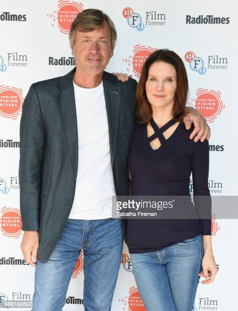 Richard Madeley and Susie Dent attends the BFI Radio Times TV Festival at the BFI Southbank on April 8 2017 in London England