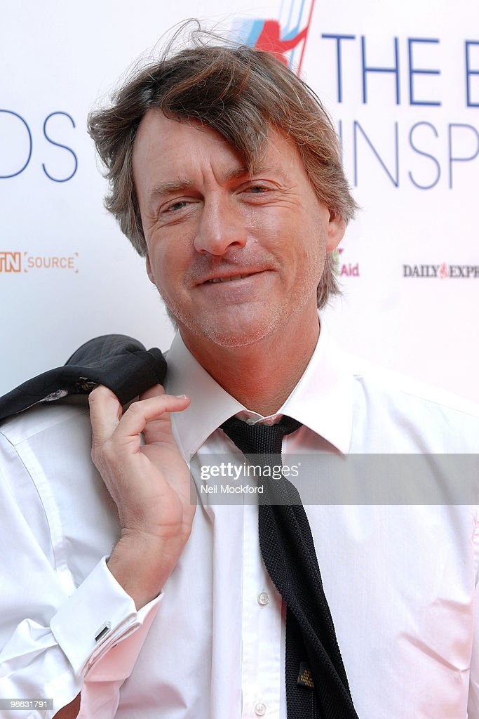 Richard Madeley arrives for The British Inspiration Awards on April 23, 2010 in London, England.
