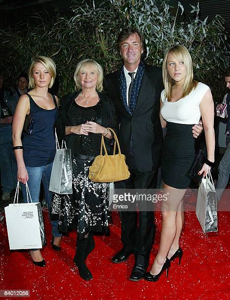 Richard Madeley Judy Finnigan and family attend the English National Ballet Night of the Snow Queen at the Coliseum on December 12 2007 in London...