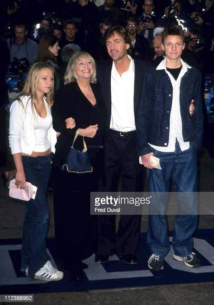 Richard Madeley Judy Finnigan and Family during Harry Potter London Premiere 1st Nov 2001 at Leicester Square in London United Kingdom