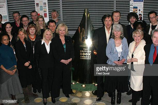 Richard Madeley Judy Finnigan Jilly Cooper and Gloria Hunniford with nominess