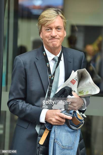 Richard Madeley seen at the ITV Studios on October 25 2017 in London England
