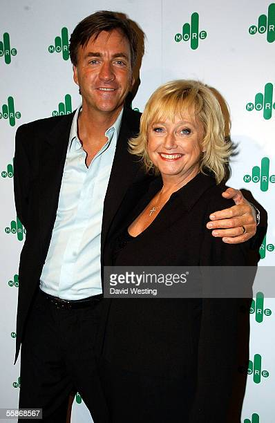 Richard Madely and his wife Judy Finnigan attend the MORE4 TV Launch Party launching Channel 4's adult entertainment digital channel at The Shunt...