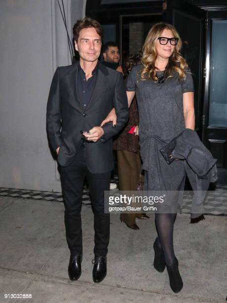 Richard Marx and Daisy Fuentes are seen on January 31 2018 in Los Angeles California
