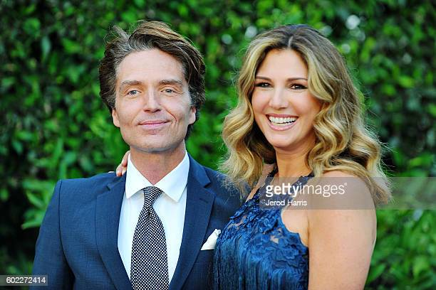 Richard Marx and Daisy Fuentes arrive at Mercy For Animals Presents Hidden Heroes Gala 2016 at Vibiana on September 10 2016 in Los Angeles California