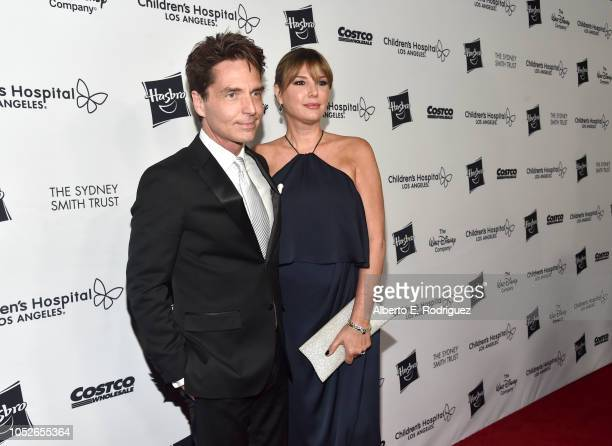 Richard Marx and Daisy Fuentes attend the 2018 Children's Hospital Los Angeles 'From Paris With Love' Gala at LA Live on October 20 2018 in Los...