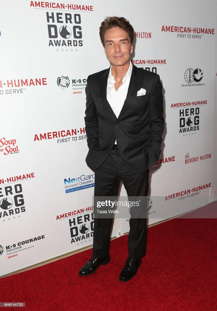Richard Marx at the 7th Annual American Humane Association Hero Dog Awards at The Beverly Hilton Hotel on September 16, 2017 in Beverly Hills, California.