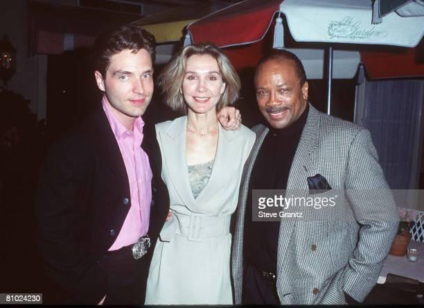 Richard Marx Cynthia Rhoades and Quincy Jones