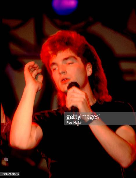 Richard Marx performing at the Hard Rock Cafe in Chicago Illinois July 24 1987