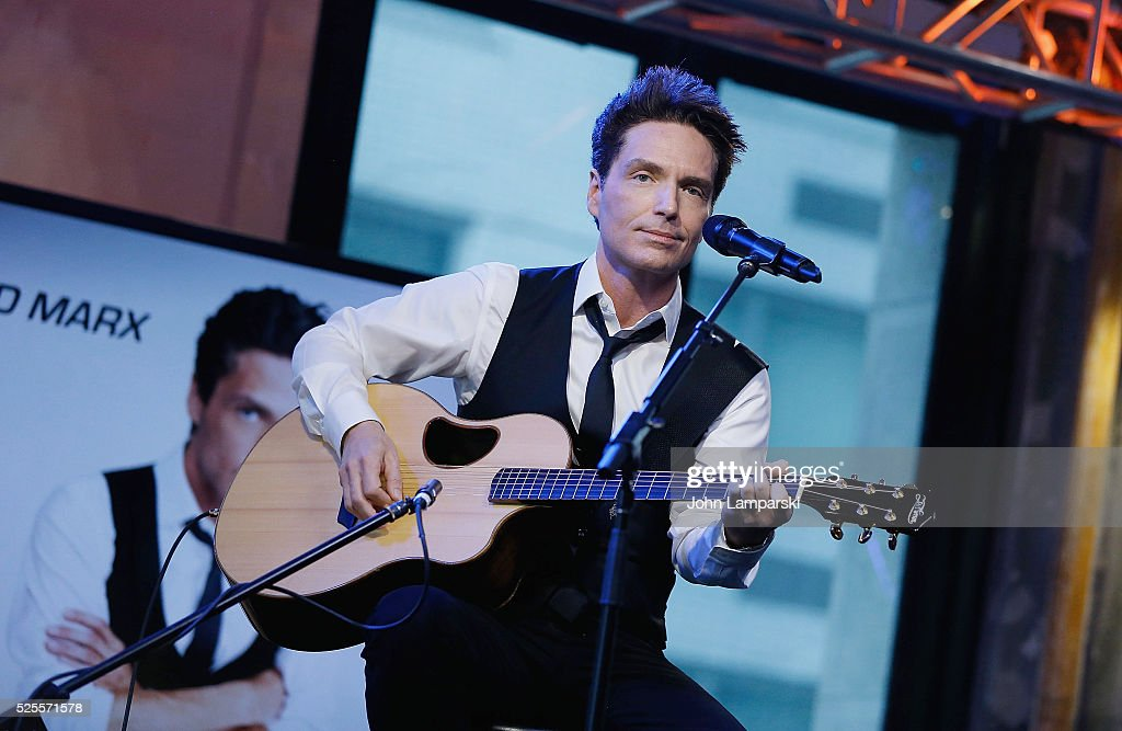 Richard Marx performs at AOL Build Speaker Series at AOL Studios In New York on April 28, 2016 in New York City.