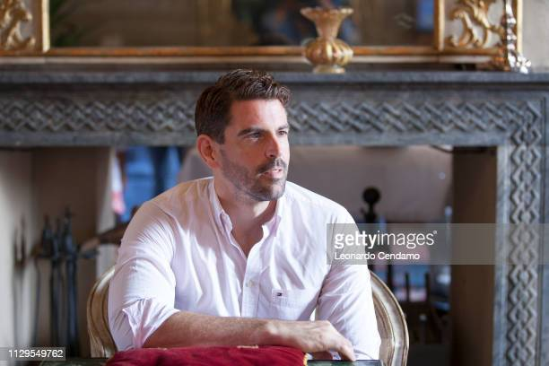 Richard Mason, English writer, Stresa, Italy, 9th September 2017.