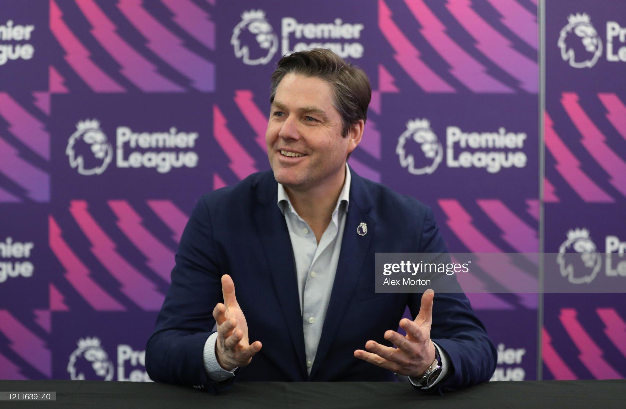Premier League Chief Executive Richard Masters Media Briefing : ニュース写真