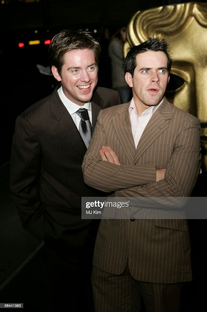 Richard McCourt and Dominic Wood aka Dick and Dom arrive at the British Academy Children's Film & Television Awards 2005 at the London Hilton on November 27, 2005 in London, England. The annual awards are awarded for excellence in the field of children's television and film, with categories including Children's Animation, Children's Drama, Schools Factual and BAFTA Kids' Vote.