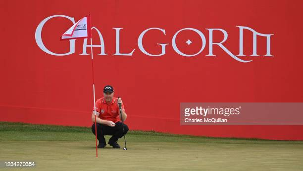 Richard McEvoy during the Pro Am event at The ISPS HANDA World Invitational at on July 28, 2021 in Ballymena, United Kingdom.