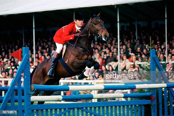 Richard Meade competing in the Badminton Horse Trials
