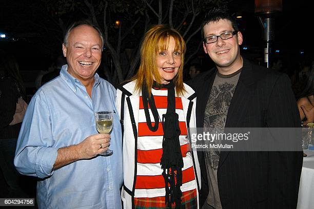 Richard Minoff Janet Charlton and David Lasky attend LA Confidential Party at The Mondrian on March 2 2006
