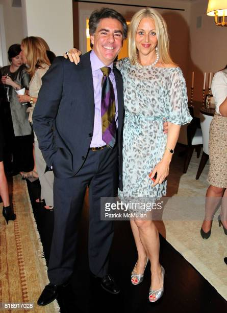Richard Mishaan and Dana Hammond attend Marcia and Richard Mishaan Toast Brooke Garber Neidich and Dr. Harold Koplewicz of the CHILD STUDY CENTER...