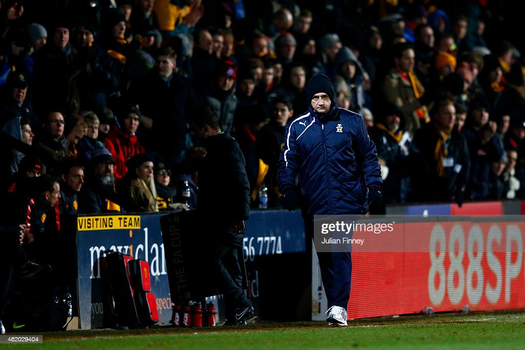 Cambridge United v Manchester United - FA Cup Fourth Round : News Photo