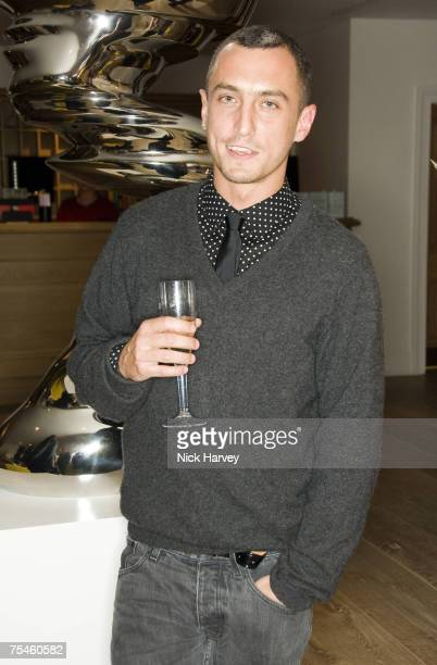 Richard Nichol attends the Westfield London & British Fashion Council Fashion Forward Party at the Haymarket Hotel in London, Great Britain on July...