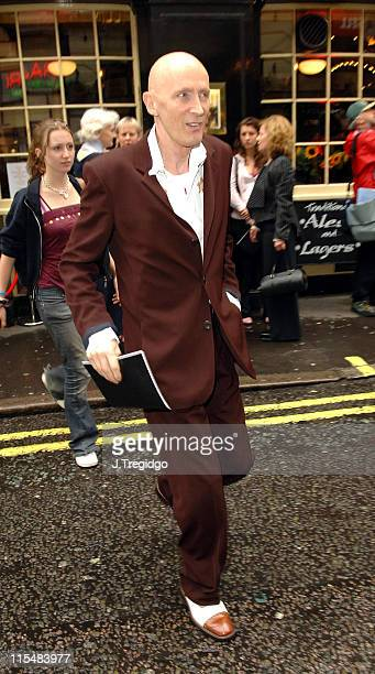 Richard O'Brien during Guys and Dolls West End London Play Press Night at Piccadilly Theatre in London Great Britain
