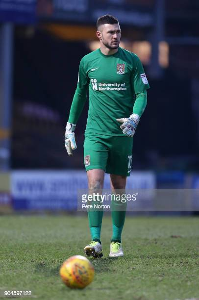 Richard O'Donnell of Northampton Town in action during the Sky Bet League One match between Bradford City and Northampton Town at Northern...