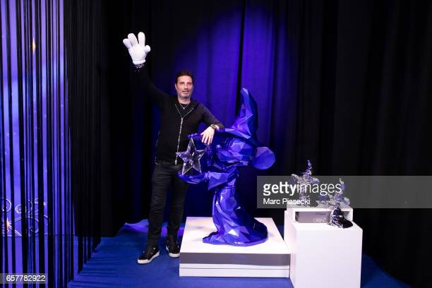 Richard Orlinski poses during the Disneyland Paris 25th Anniversary at Disneyland Paris on March 25 2017 in Paris France