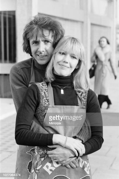 Richard O'Sullivan and Tessa Wyatt pose for the photocall for the ITV sitcom 'Robin's Nest 4th January 1977