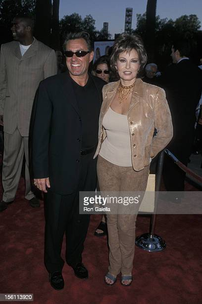 Richard Palmer and Raquel Welch during 'Nutty Professor II The Klumps' Los Angeles Premiere at Universal Amphitheatre in Universal City California...