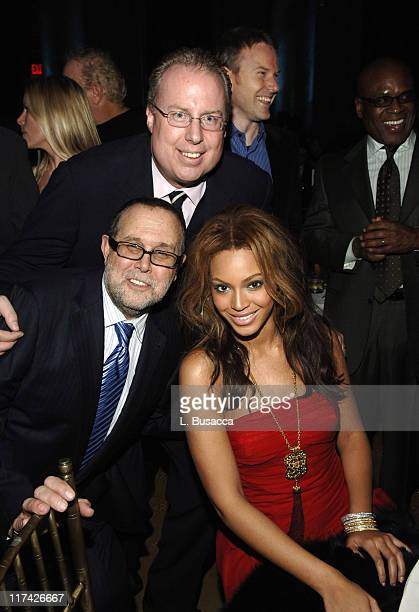 Richard Palmese Steve Bartels and Beyonce Knowles as music's biggest hitmakers and stars come out to honor one of their own legendary music executive...