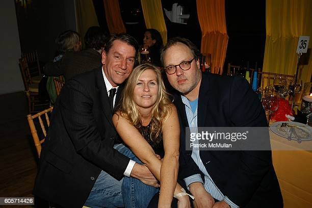 Richard Pandiscio Kim Vernon and Tod Eberle attend PS1 MOMA 30th Anniversary Homecoming GALA at PS1 on October 22 2006 in New York City