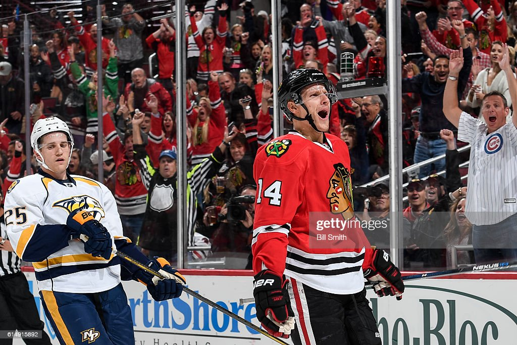 Nashville Predators v Chicago Blackhawks