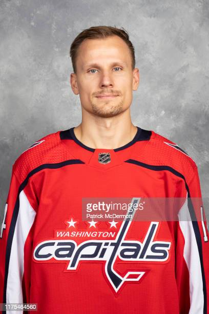 Richard Panik of the Washington Capitals poses for his official headshot for the 20192020 season on September 12 2019 at MedStar Capitals Iceplex in...