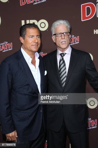 Richard Pepler and Ted Danson attend HBO Presents the Season Premiere of BORED TO DEATH at NYU Skirball Center on September 21 2010 in New York City